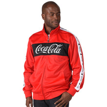 Load image into Gallery viewer, MEN'S COCA-COLA® TRACK JACKET
