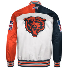 Load image into Gallery viewer, Limited Edition Chicago Bears Satin Jacket