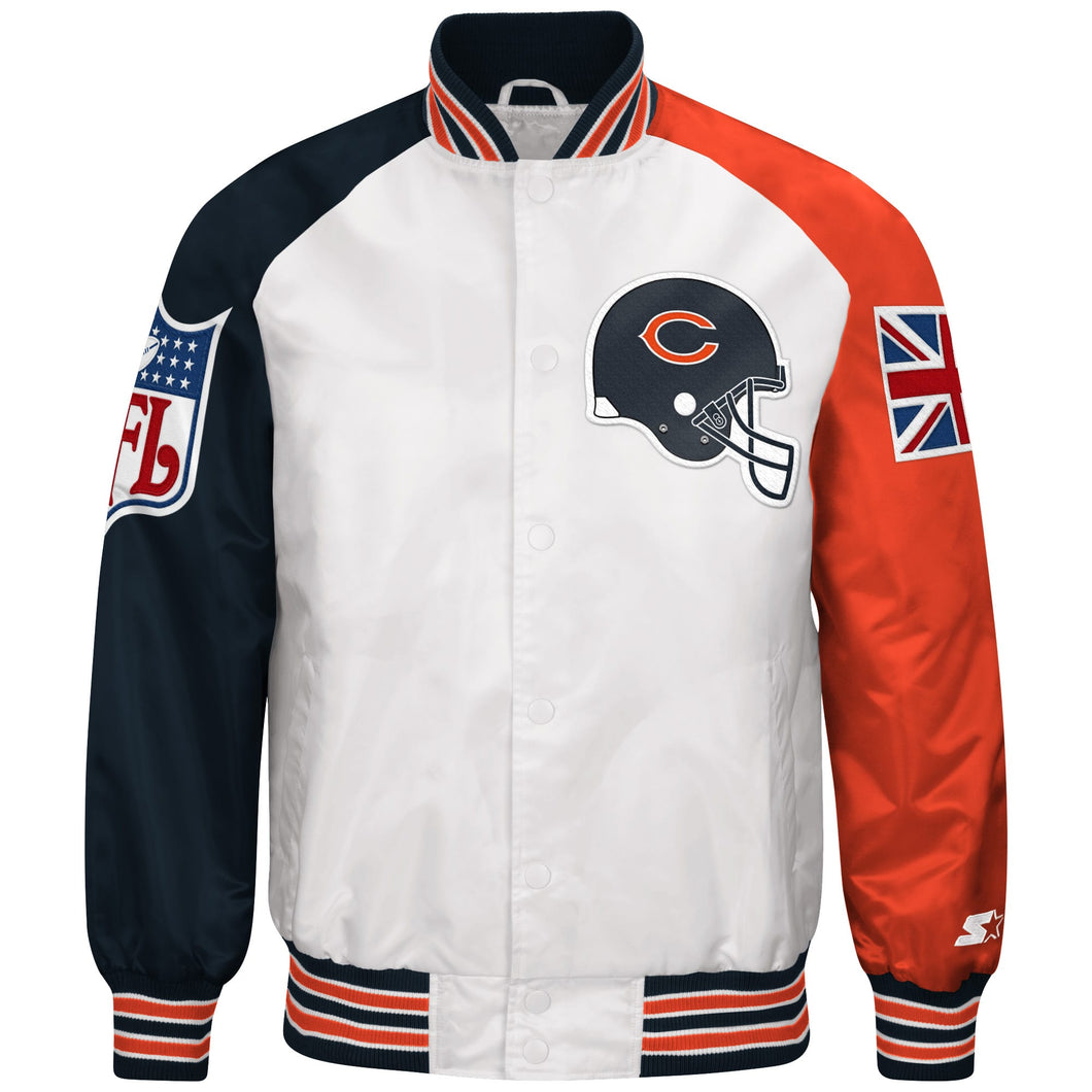Limited Edition Chicago Bears Satin Jacket