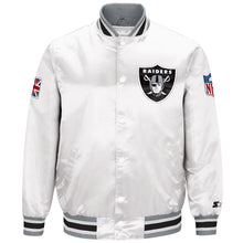 Load image into Gallery viewer, Limited Edition Oakland Raiders Satin Jacket
