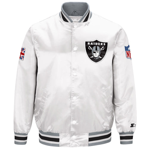 Limited Edition Oakland Raiders Satin Jacket