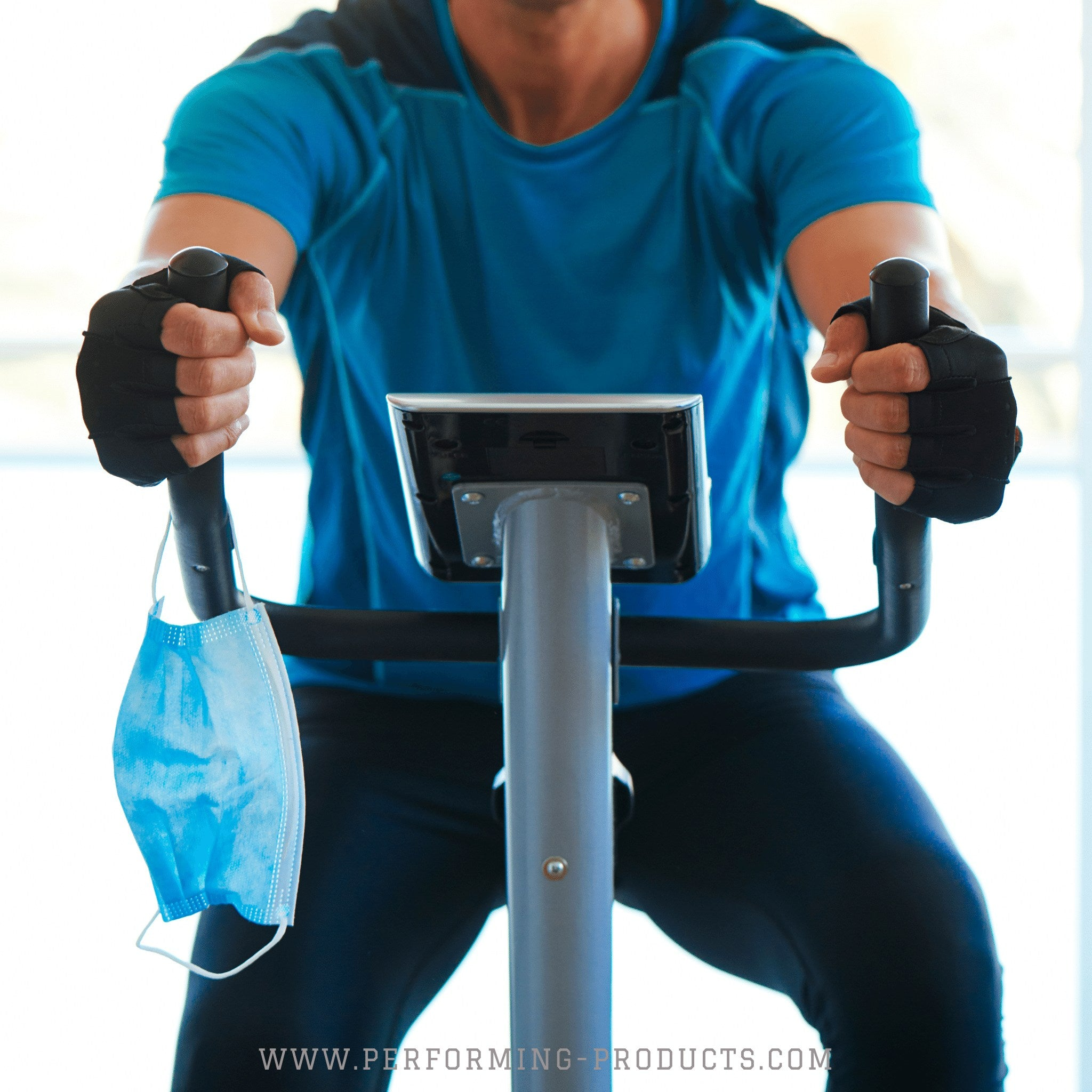 Why should people not wear a face mask during exercise?