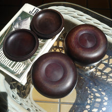 Load image into Gallery viewer, Size 20 Go Stones and Go Bowls Set - Medium - Antique Rosewood - Slate & Shell - #C028