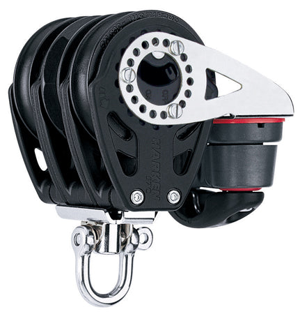 Harken Carbo 57mm triple ratchet block with all cleat
