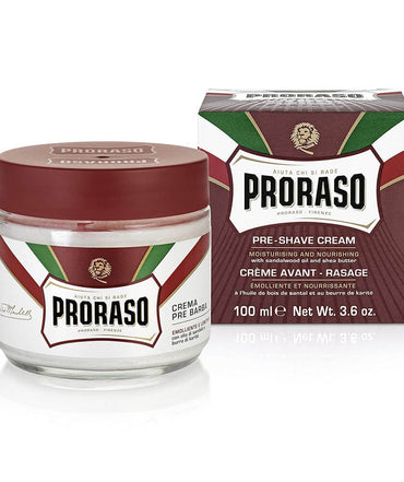 Proraso Pre Shave Cream Moisturizing And Nourishing