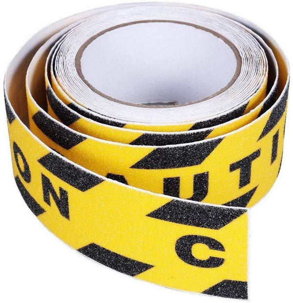 Caution  Yellow Anti Slip Tape 1.97in*16.4ft