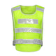 High Visibility Mesh Safety Vest Yellow