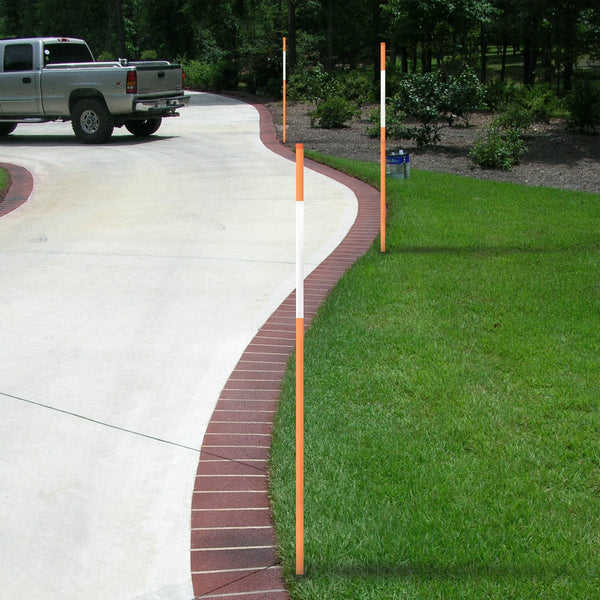"4Ft x 5/16"" Snow Stakes Solid"