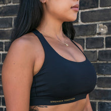 Load image into Gallery viewer, Lululemon x S&T: Energy Bra Gold Edition