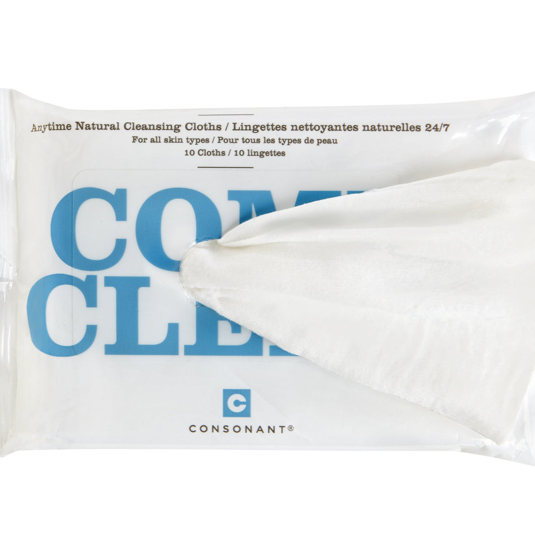 Consonant Skincare Come Clean Cleansing Cloths