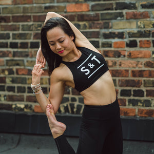 Lululemon x S&T: Free to Be High Neck Bra