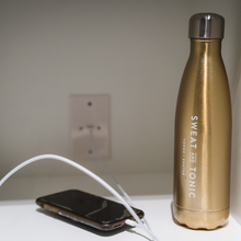 Load image into Gallery viewer, Sparkling Champagne 17oz Swell Reusable Bottle