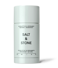 Load image into Gallery viewer, Salt and Stone Natural Deodorant - Eucalyptus & Bergamot (75g)