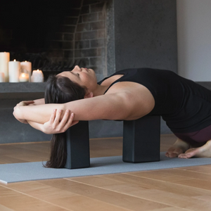 Halfmoon Yoga Blocks