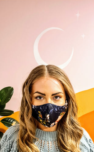Washable Face Mask - LIMITED EDITION FLORAL WOMENS