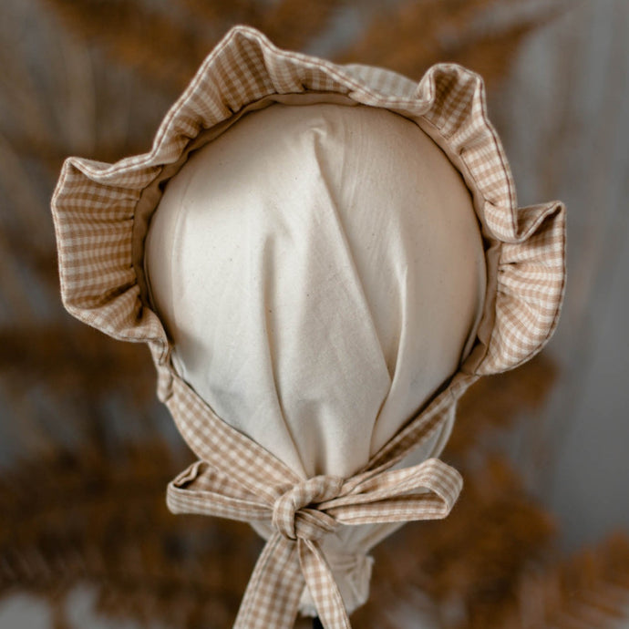 The Custom Ruffle Brimmed Bonnet