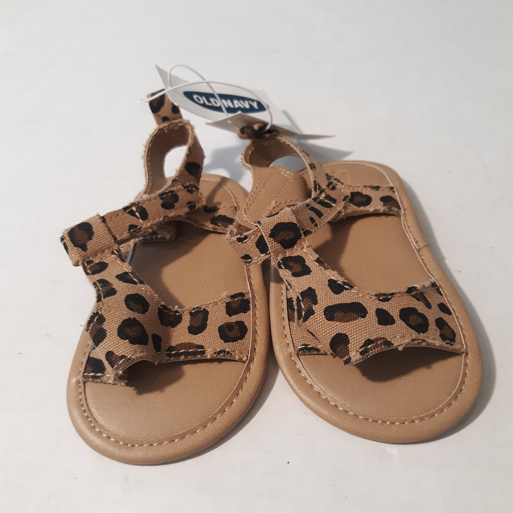 Old Navy Baby Crib Shoes Sandals Animal
