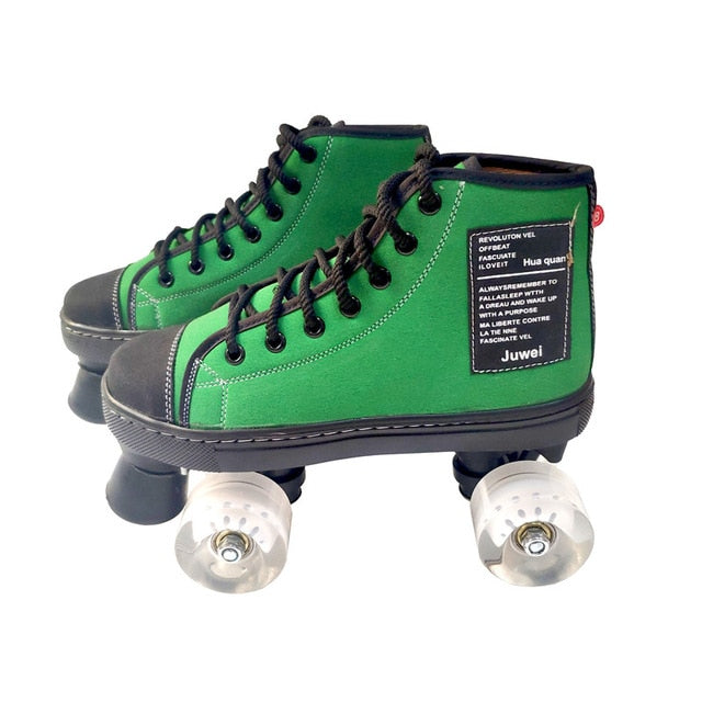 Sk8 Girl™ - Vintage & French Inspired Quad Roller Skate