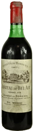 Chateau Bel-Air 1964 Bordeaux Pomerol