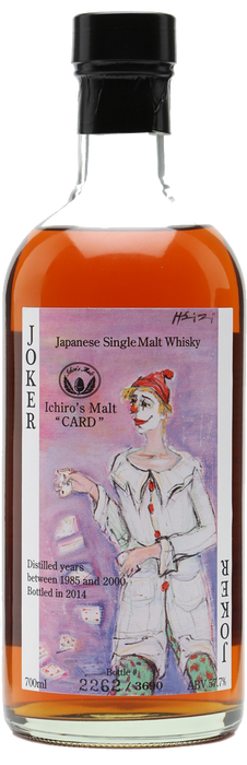 Hanyu Ichiro's Malt Card The Joker Color