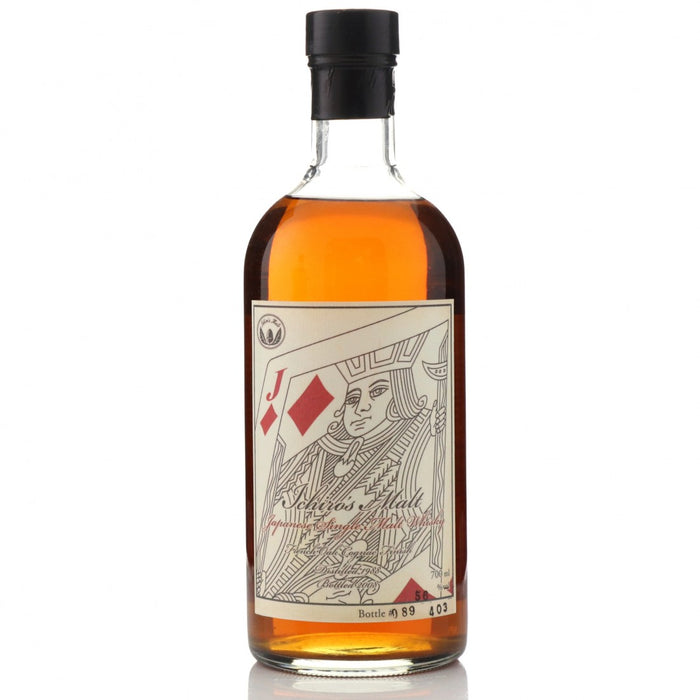 Hanyu Ichiro's Malt Card Jack of Diamonds