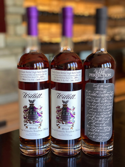 Willett 25 Years Rare Bourbon