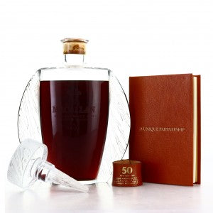Macallan 50 Years, Lalique Decanter