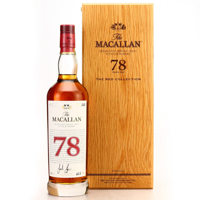 The Macallan The Red Collection 78 Year Old Single Malt Scotch Whisky