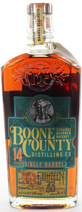 Boone County - 14 Years Old (Single Barrel Eighteen 33) Bourbon