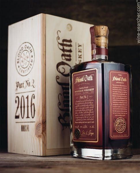 Blood Oath Pact No. 2 Kentucky Straight Bourbon Whiskey, USA