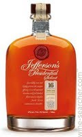 Jefferson's Presidential Select Bourbon 16 year old