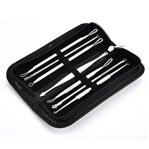 Pimple Tweezer Blemish Extractor Blackhead Remover Tool Kit