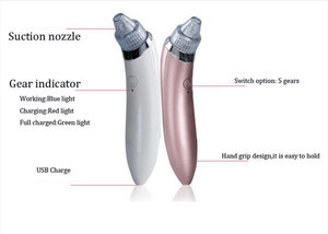 Facial Vacuum Pore Cleaner