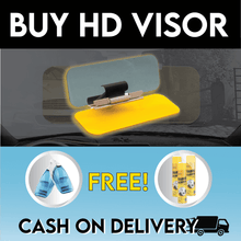 Load image into Gallery viewer, HD VISOR PLUS FREE CAR VACUUM CLEANER AND MULTI- PURPOSE CLEANER
