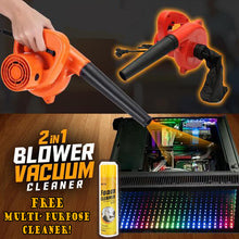Load image into Gallery viewer, 2IN1 BLOWER VACUUM CLEANER + FREE MULTI PURPOSE CLEANER!