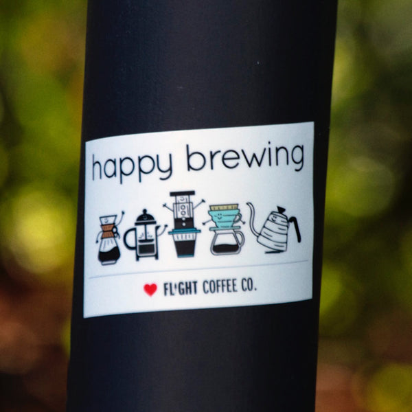xo Sticker - Happy Brewing!