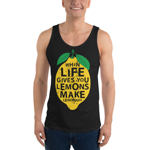Lemons Lemonade Unisex Tank Top