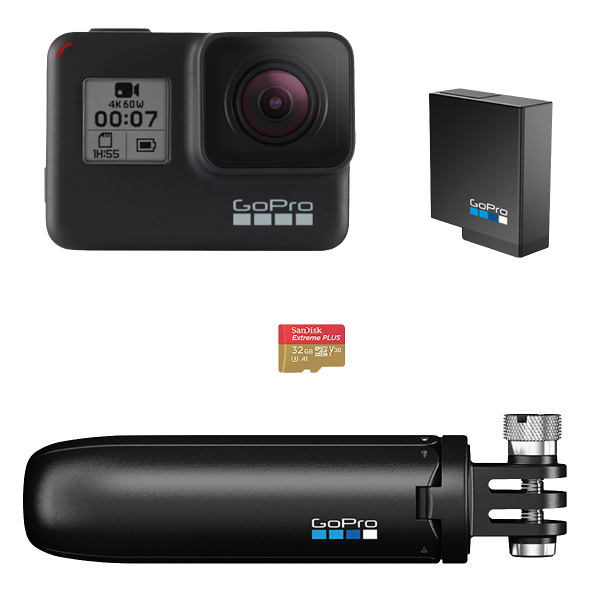 GoPro action camera HERO7 Black Bundle