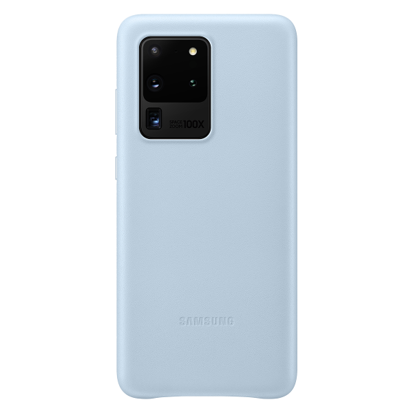 LEATHER CASE SAMSUNG S20 ULTRA COVER WHITE