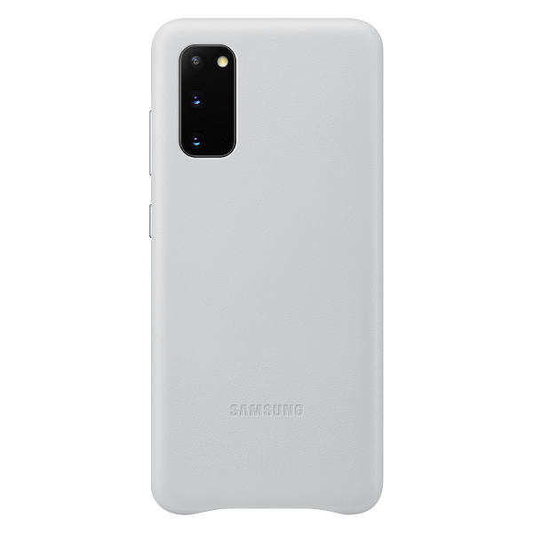LEATHER CASE SAMSUNG S20 COVER WHITE