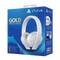 SONY Gold cordless headphones for PS4 White Edition