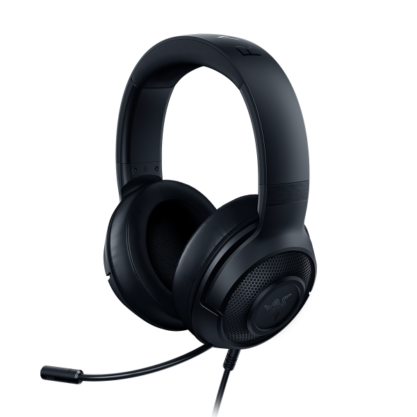 RAZER wired gaming headset Kraken X Lite Black