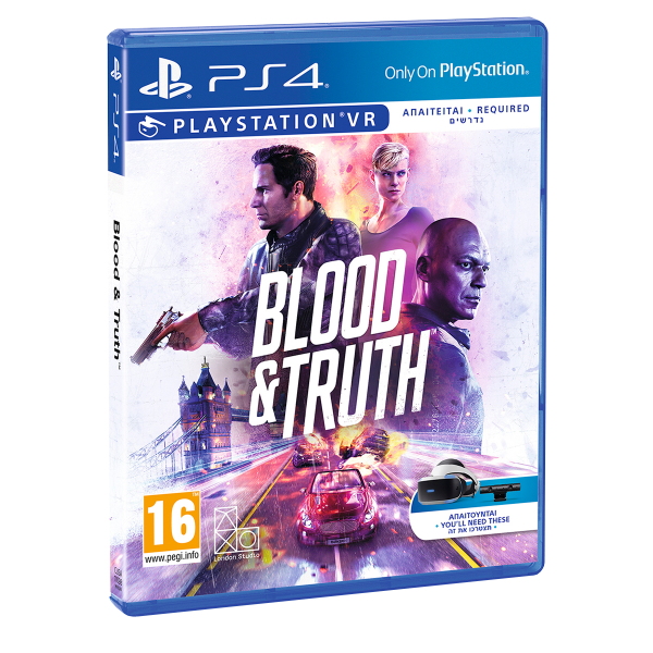 Blood & Truth - PS4/ PS VR