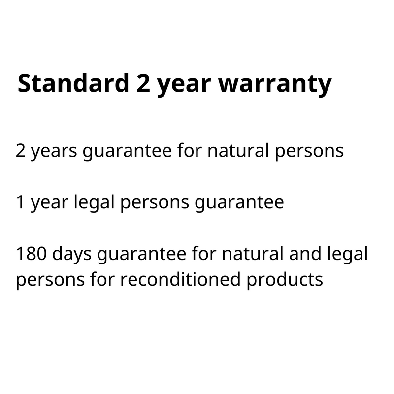 Extended Warranty 2 years
