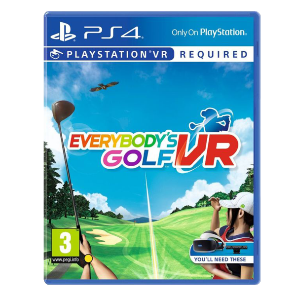 Everybody's Golf VR - PS4/ PS VR