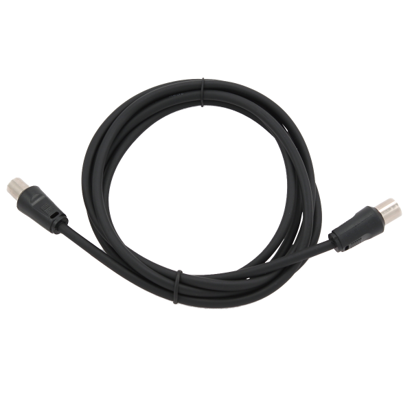 CABLEXPERT 1.8 m coaxial antenna extension cable Black