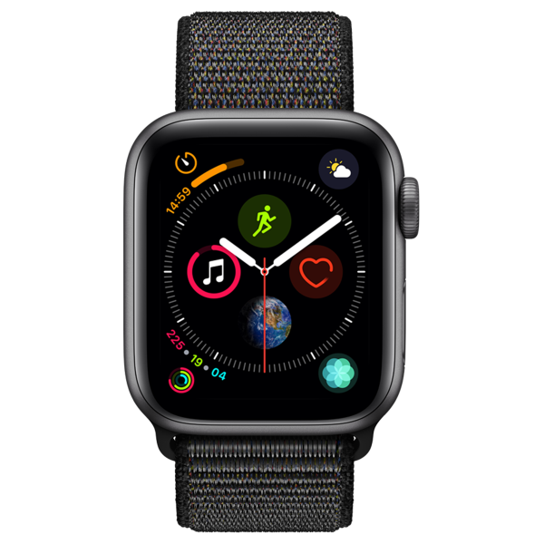 APPLE Watch Series 4 GPS 40mm Space Grey Aluminium Sport Loop