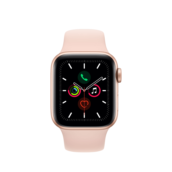 APPLE Watch Series 5 GPS 40mm Gold Aluminium με Sport Band