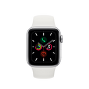 APPLE Watch Series 5 GPS 40mm Silver Aluminium με Sport Band