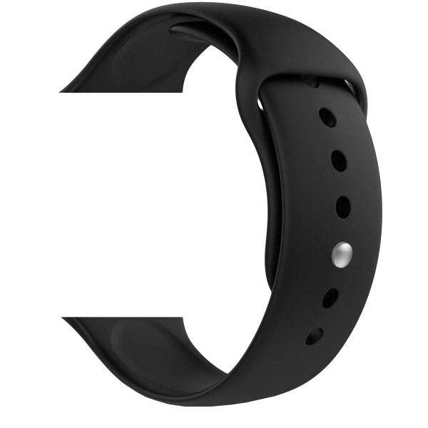 SENSO replacement strap for APPLE Watch 42mm Black